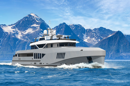 Superyacht News reports on the Cape Hawk 690