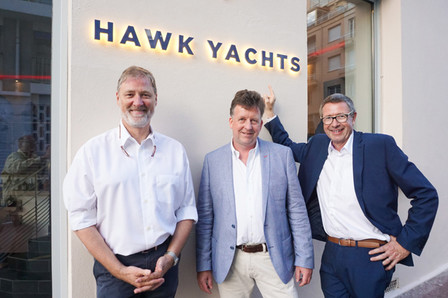 Hawk Yachts have a new representative office in Antibes